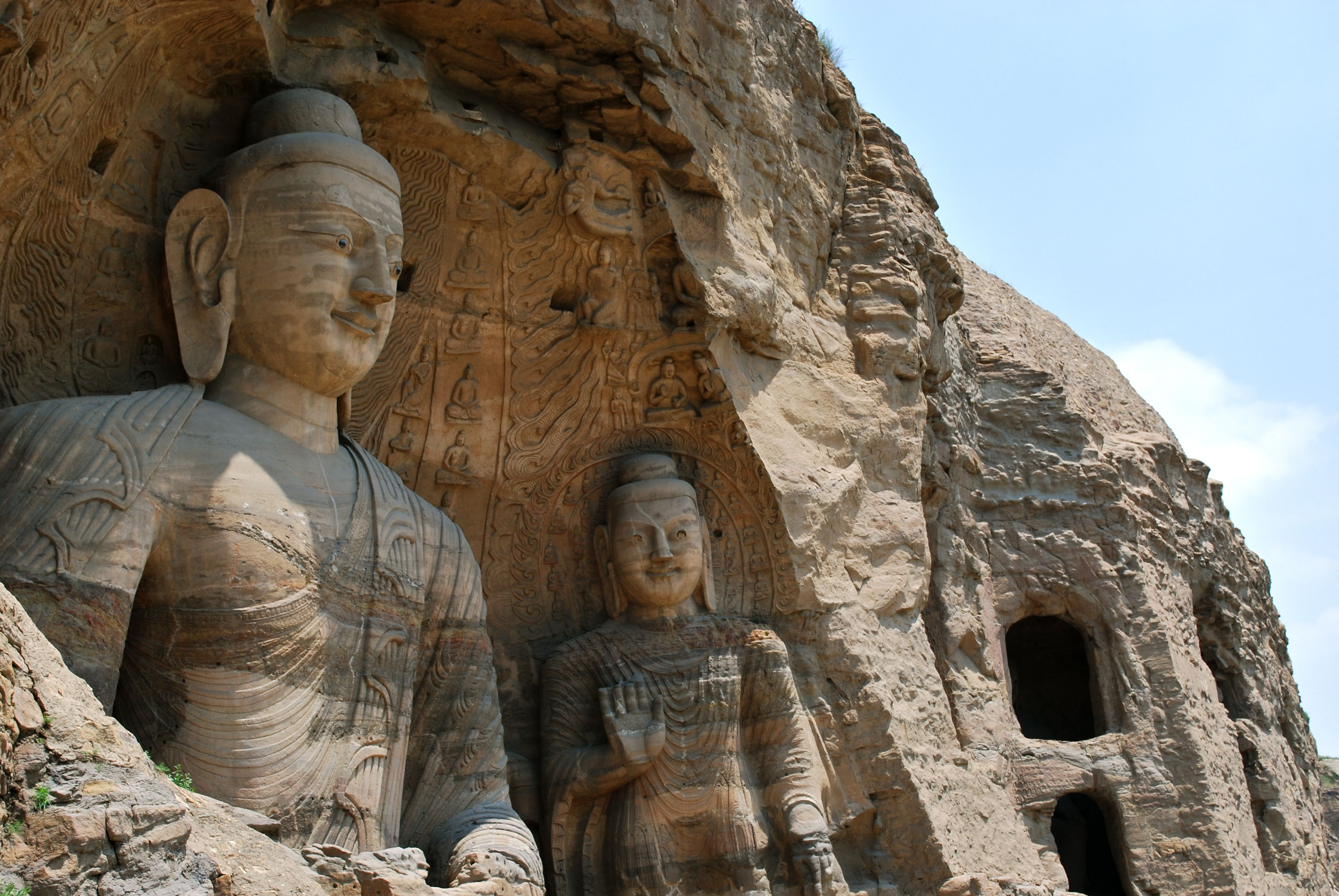 buddhist single men in grottoes Of the twenty calligraphies at long men, 19 are found in this cave  although often referred to as a perfect art representation of buddhist culture, the longmen grottoes at the same.